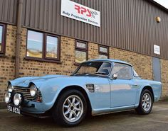 LHD Works Rally Replica: 1963 Triumph TR4 w/ FIA Passport | Bring a Trailer