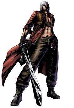 Marvel vs. Capcom 3 - Dante Concept Art