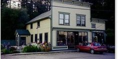 The upstairs was my house and across the street was the water.  Port Hadlock WA  The Ajax Cafe