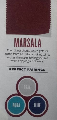 instyle magazine colors marsala - Google Search