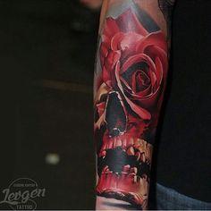 Tattoo work by: @levgen_eugeneknysh!!!) #skinartmag #tattoorevuemag #supportgoodtattooing #support_good_tattooing #tattoos_alday #tattoosalday #sharon_alday #tattoo #tattoos #tattooed #tattooart #bodyart #tattoocommunity #tattooedcommunity #tattooedpeople #tattoosociety #tattoolover #ink #inked #inkedup #inklife #inkedlife #inkaddict #besttattoos #tattooculture #skulls #roses #skinart #tattooing #tattooartist