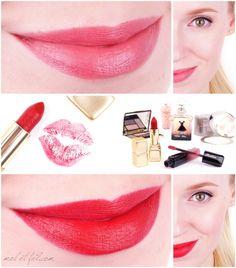 Guerlain Intense Liquid Matte Matte Tempting Rose & KissKiss  Spicy Burgundy - Review und Swatches Hacks, Makeup Palette, Loreal, Swatch, Spicy, Burgundy, Make Up, Lipstick, Beauty