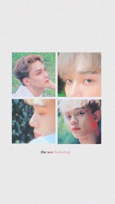 AHHHHH Chen blonde again aaaaaa Baekhyun, Park Chanyeol, Exo Kokobop, Exo Ot12, Chanbaek, Dino Park, Exo Lockscreen, K Wallpaper, Xiuchen