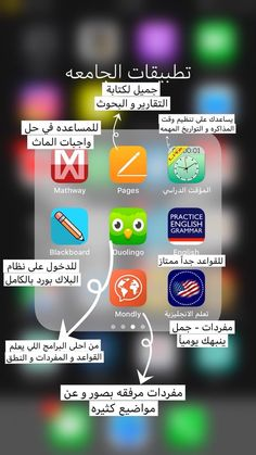 Iphone Photo Editor App, Education Application, Study Apps, Vie Motivation, Iphone App Layout, Learning Websites, English Language Learning, Learn English Words, Learning Arabic