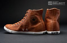 Converse - Chuck Taylor All Star Slim - HI Cut - Brown - Mens Shoes | Raddest Men's Fashion Looks On The Internet: http://www.raddestlooks.org
