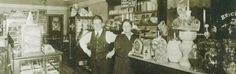 Andrea's, featuring Jack's Cafe's historic soda fountain, has been family-owned since 1911.