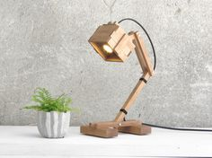 Kran VI - ENGINEER LOVING LAMP! (Hey, you dont need to be a technical guy in order to have one!)  A minimalistic, simple and yet elegant design. The Kran