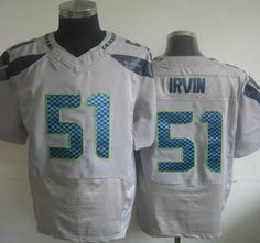 ELITE Seattle Seahawks Bruce Irvin Jerseys