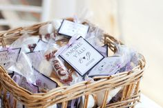 Słodycze - upominki dla gości