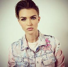 Ruby Rose = giving you style goals in 2015 and beyond.