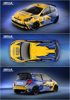 Design for Irish rally driver Tommy Doyle and his Renault Clio