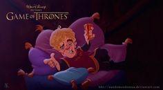E se os personagens de Game of Thrones fossem desenhados pela Disney? - Mega Curioso