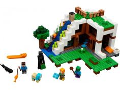Buy LEGO MINECRAFT The Waterfall Base NEW 2017for R2,279.00