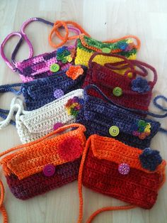 Party Gift Purses/Bags: free pattern