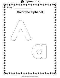 Creative Writing Worksheets, English Worksheets For Kindergarten, Kindergarten Learning, Preschool Learning Activities, Alphabet Worksheets, Kids Writing, Kindergarten Worksheets, Worksheets For Kids, Kids Learning