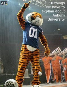 10 things we have to explain about #Auburn University #WarEagle