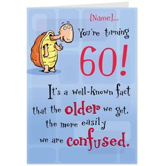 Card Animated Birthday Cards Happy Funny 60th Quotes Husband