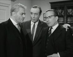 Thorley Walters, Dennis Price & Eric Barker in The Pure Hell of St Trinian's (1960) | by Greenman 2008