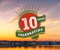 Celebrating 10th Years since the launch of Auburn Lake!
