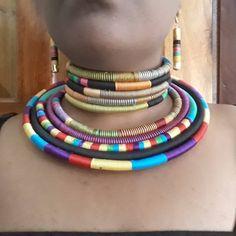 african beaded masai/kenyan necklace / Tanzania necklace / statement necklace africa/ african statement necklace