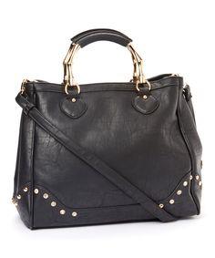 Black Marissa Shoulder Bag