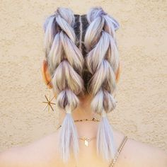 How To: Pull Through Braid Pigtails # pull through Braids updo # pull through Braids hairstyles # pull through Braids ponytail # pull through Braids updo Faux Braids, Pigtail Braids, Micro Braids, Plaits, Rope Braid, Braided Ponytail, Braided Hairstyles, Beanie Hairstyles, French Braid Pigtails