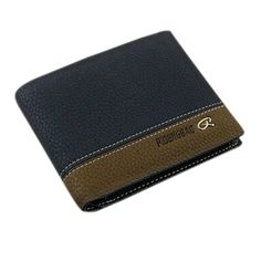 Polytree Mens Clutch Cente Bifold Faux Leather Wallet * More info could be found at the image url.