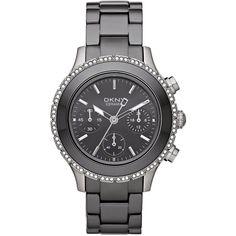 Dkny damen armbanduhr chronograph quarz edelstahl ny8507
