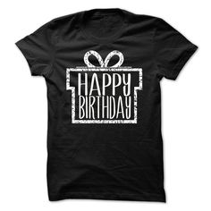 HAPPY BIRTHDAY TSHIRT( NICE GIFT FOR SPECIAL SOMEONE)