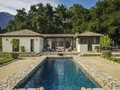 Historic Hacienda Ranch, Ojai CA Single Family Home - Santa Barbara Real Estate