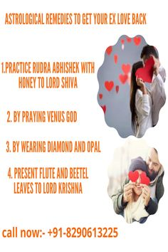 If you want to solve your problem by the best vashikaran astrological remedies, complete solution of your problems and wants to have instant results then you can contact to our best astrologer who is providing his services for last 10 years and has solved many cases related lost love back .