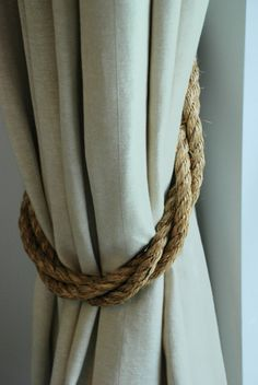 Check out this item in my Etsy shop https://www.etsy.com/uk/listing/385708252/manila-rope-rustic-thick-twist-curtain