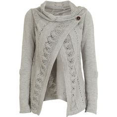 Object Collectors Item New Deanna X Knit Cardigan - Polyvore