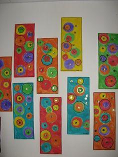Ronds - Webécoles - Grenoble 4 - Ideas for Art Classes - # for . Kadinsky Art, Art Kandinsky, Kindergarten Art, Preschool Art, Classe D'art, Ecole Art, Shape Art, Collaborative Art, Art Classroom