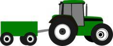 Tractor clip art - vector clip art online, royalty free & public domain