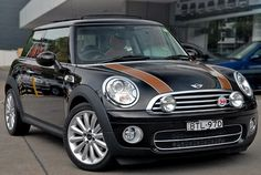 Mini Cooper Mayfair - yes, it's fast