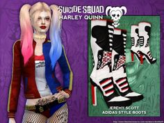 AmiSwift's Suicide Squad's Harley Quinn Set - mesh needed