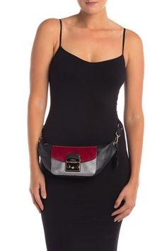 Metropolis Amy Mini Leather   Genuine Calf Hair Mini Belt Bag by Furla on   nordstrom rack 9bb1d6ee4cb0c