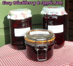 Easy Blackberry & Apple Jam is so popular as I removed the need for 2 pans and it just tastes divine! An absolute favourite jam!