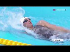 Katinka Hosszu Wins Women's 400m Medley Final LEN European Swimming Cham...