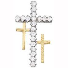 Resurrection Cross Pendant - All Patron Saints