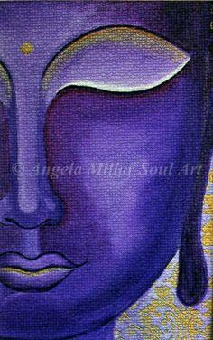 Buddha-Angela Millar Soul Art