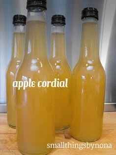 apple cordial - a recipe