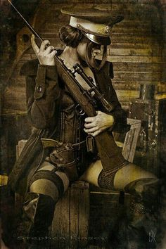 Armed Wild West Woman,  Wife Material from time past :