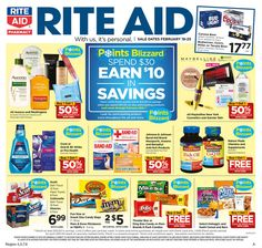 Rite Aid Weekly Ad February 19 - 25, 2017 - http://www.olcatalog.com/grocery/rite-aid-weekly-ad.html