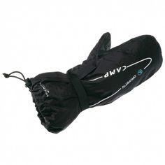 Camp Drymit'Nsú návleky na rukavice vyrobené s nepremokavého memmbránového materiálu s podlepenými švami.
