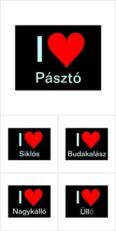 Ungarn - ich liebe-Postkarten