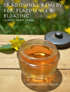 A remedy for flatulence and bloating in a lesson from India – Fresh Bites Daily Natural Remedies For Gas, Gas Remedies, Stomach Remedies, Headache Remedies, Holistic Remedies, Herbal Remedies, Home Remedies For Bloating, Tea For Bloating, Homemade Detox