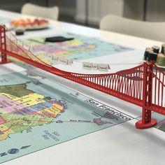 3d papercraft Bridge model architecture model paper model kit