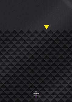 The Triangle Experiment by Minga, via Behance